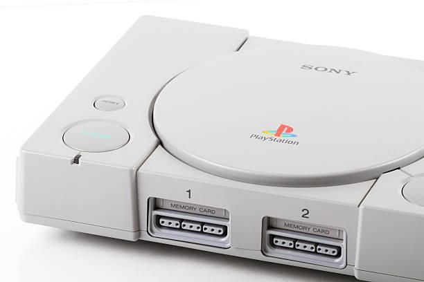 sony playstation 2 video game console - playstation stockfoto's en -beelden