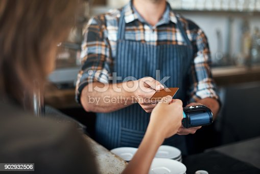 istock Soon cash will be a thing of the past 902932506