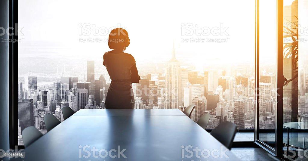 Soon I'll be running this city - Foto stock royalty-free di Adulto