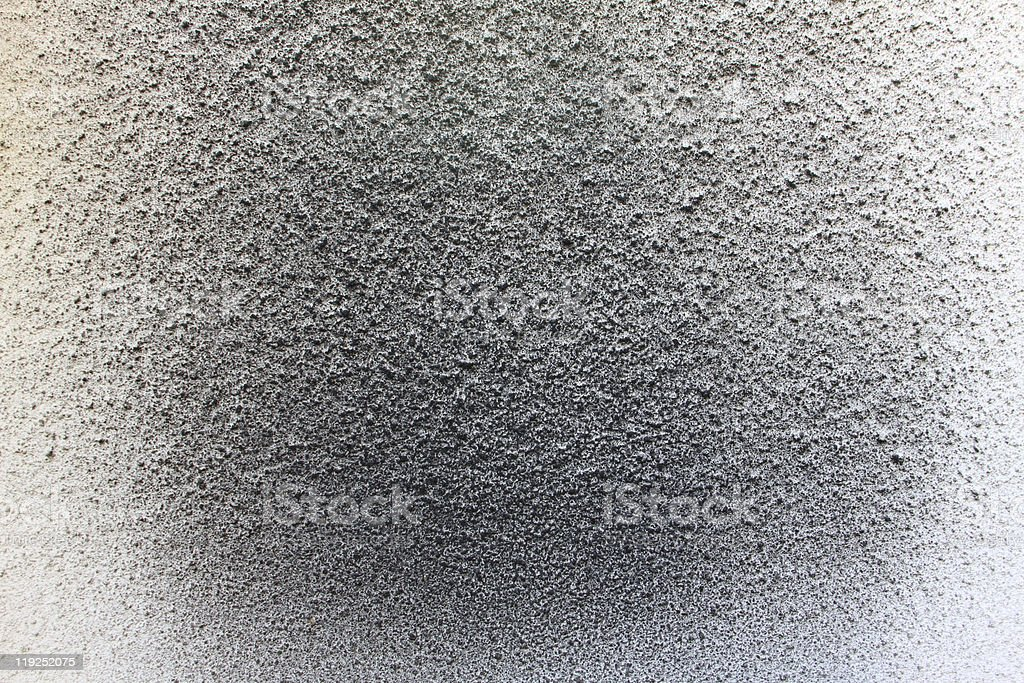Soot on Stucco 2 stock photo