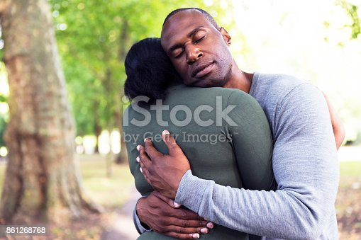istock Soothing the other's wounds in times of need 861268768