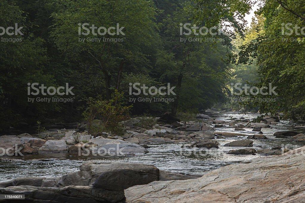 Sope Creek Mill royalty-free stock photo
