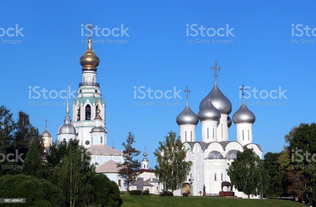 Sophia cathedral in the Vologda, Russia Стоковые фото Стоковая фотография