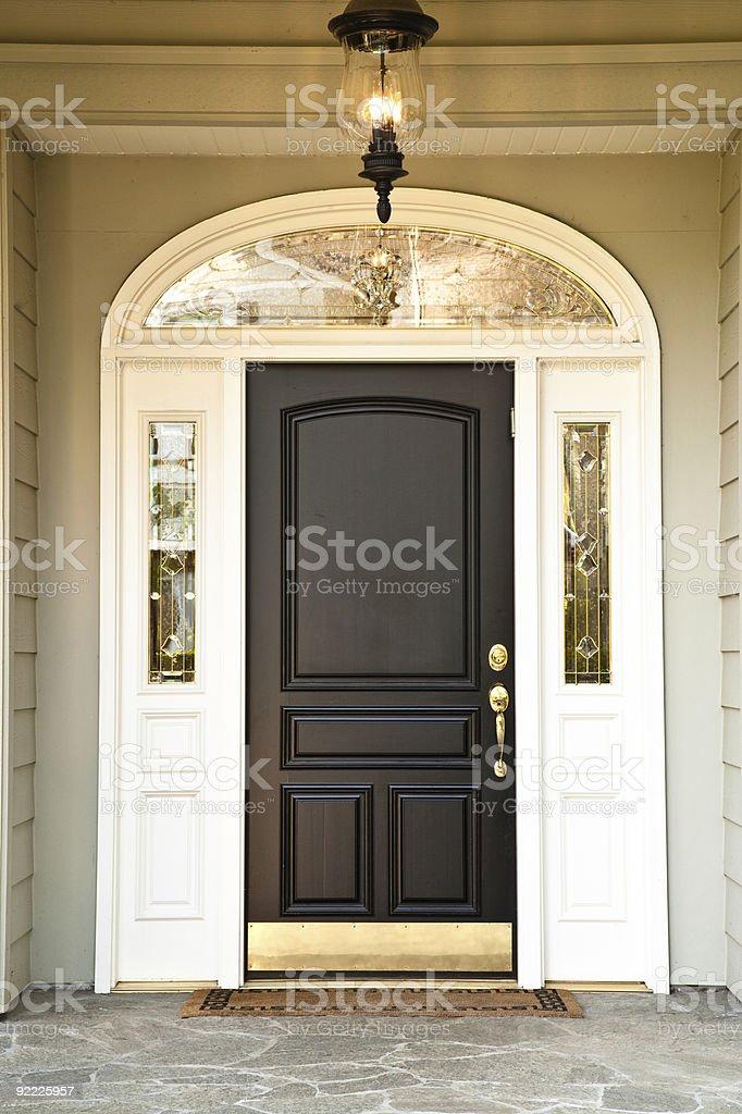 Elegante Türrahmen Eingang zu Hause – Foto