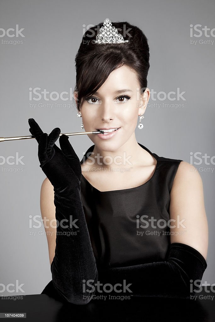 Sophisticated Lady stock photo