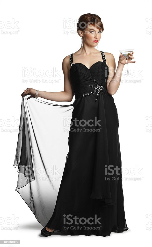 Sophisticated Lady royalty-free stock photo
