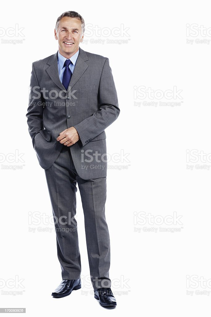 Sophisticated male executive stock photo