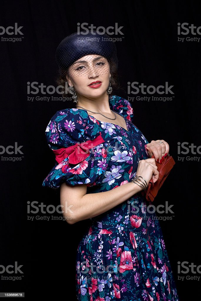 Sophisticated Shopper royalty-free stock photo