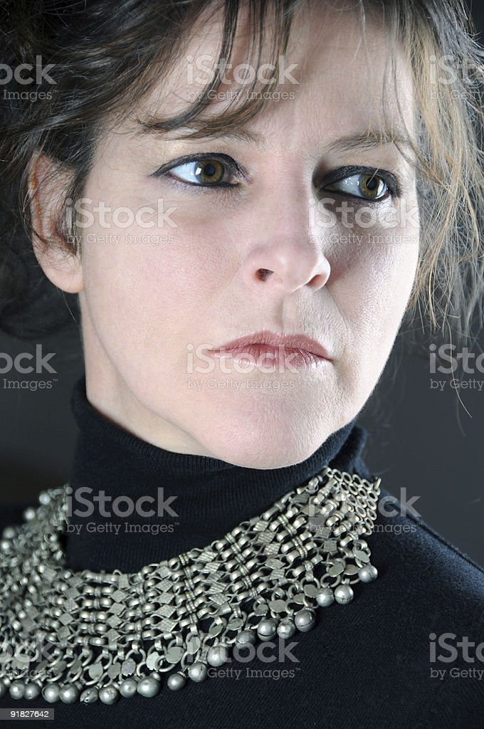 Sophisticated woman royalty-free stock photo