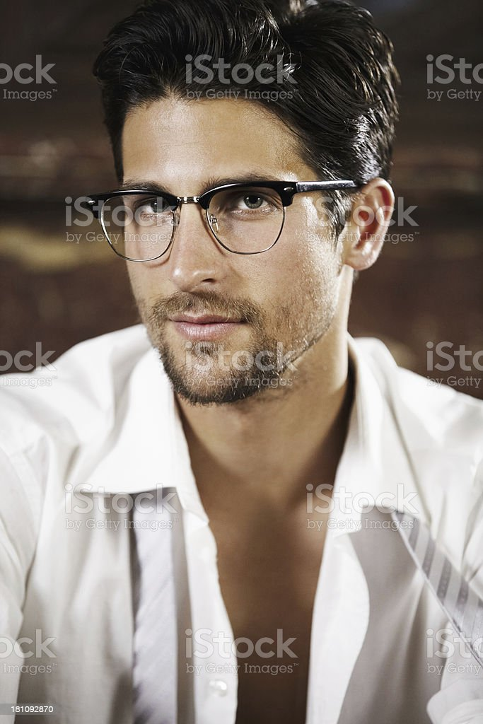 Sophisticated yet still sexy royalty-free stock photo