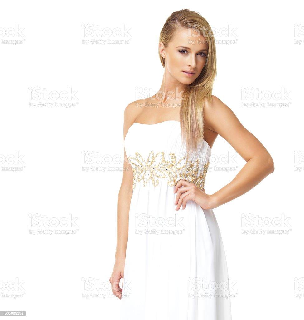 Vestido bonito blanco