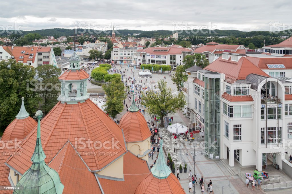 Sopot stock photo