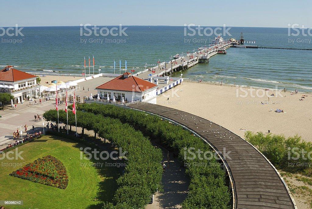 Sopot, Poland - Royalty-free Beach Stock Photo