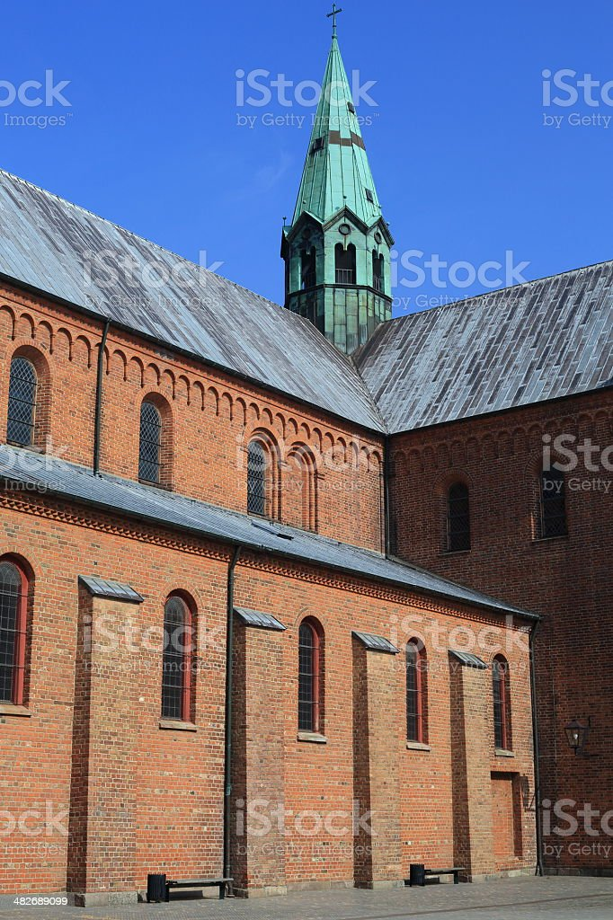 Sorø Kirke church royalty-free stock photo