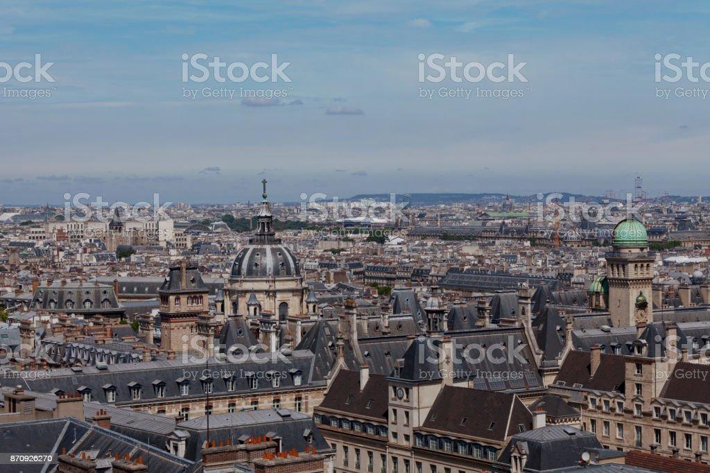 Sorbonne University stock photo