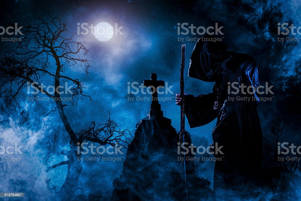 sorcerer stock photo