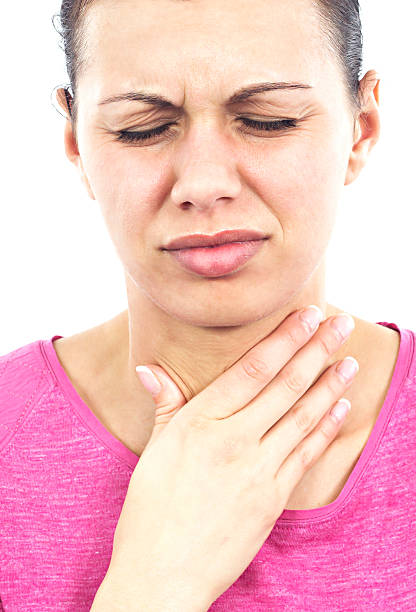 sore throat - esophagus stock photos and pictures