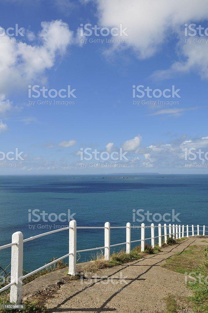 Sorel point,Jersey. stock photo