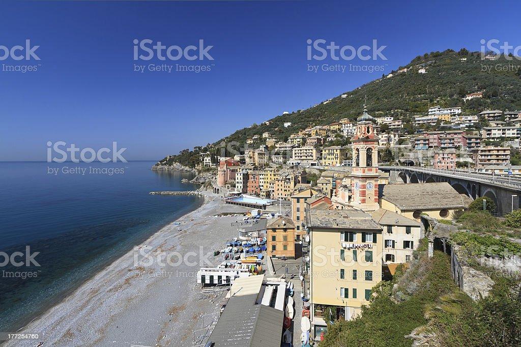 Sori, Italy - oveview royalty-free stock photo