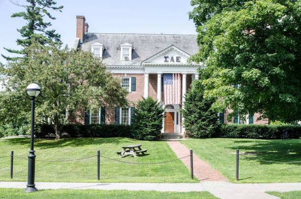 Schwesternschaft Haus des Dartmouth College in Hanover - New Hampshire Sommertag – Foto