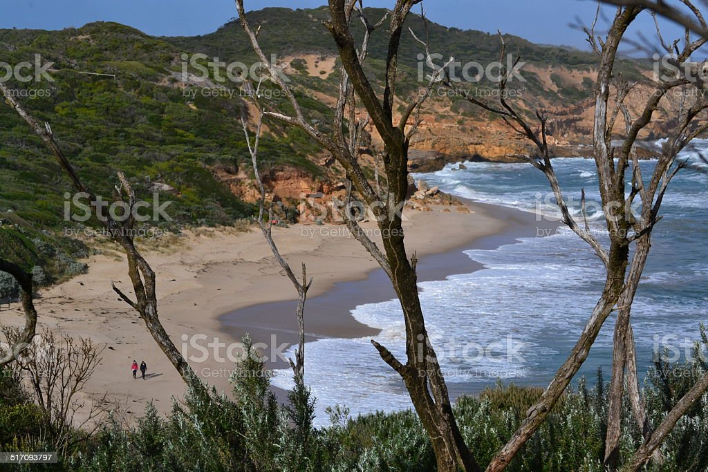 Sorrento Back Beach stock photo