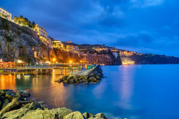 Sorrento an der italienischen Amalfiküste – Foto