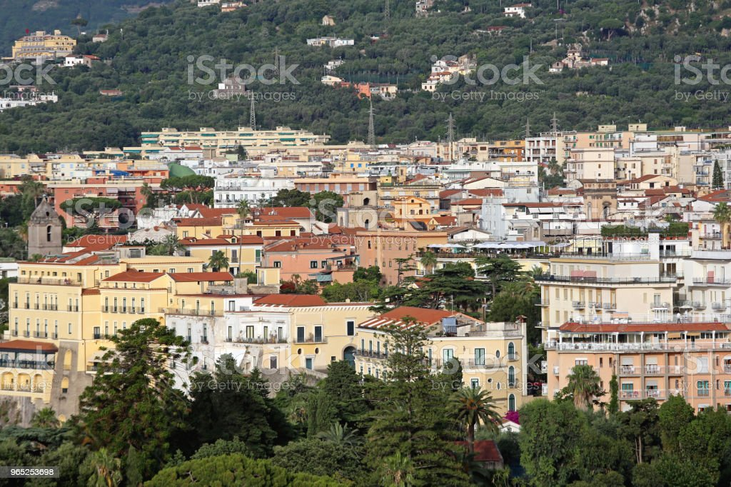 Sorrento royalty-free stock photo