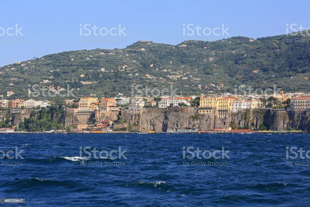 Sorrento Seascape royalty-free stock photo
