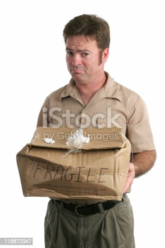 istock Sorry Delivery Man 115872047
