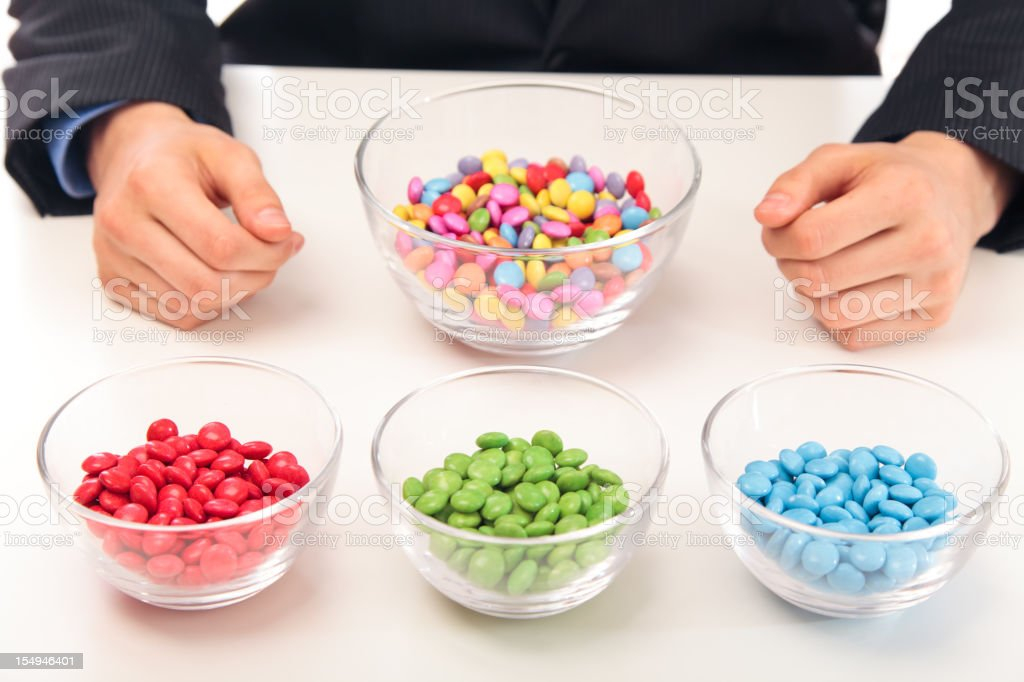 sorting things out royalty-free stock photo