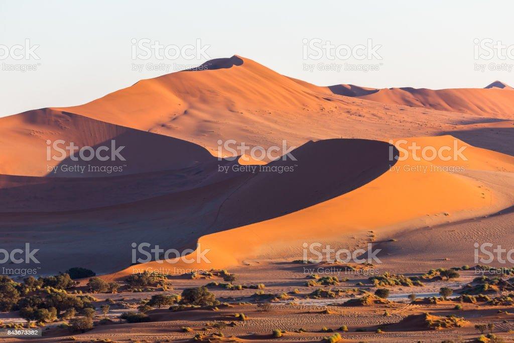 Sossusvlei, Namib Desert, Namibia, Africa stock photo