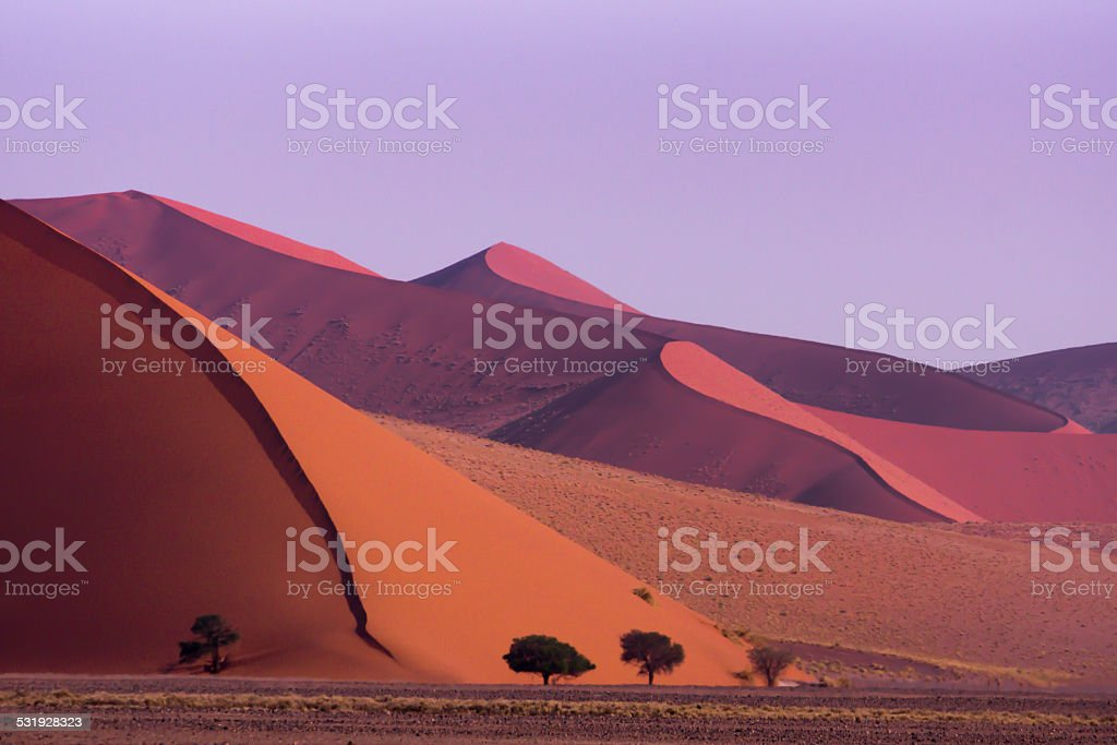 Sossusvlei, Namibia stock photo