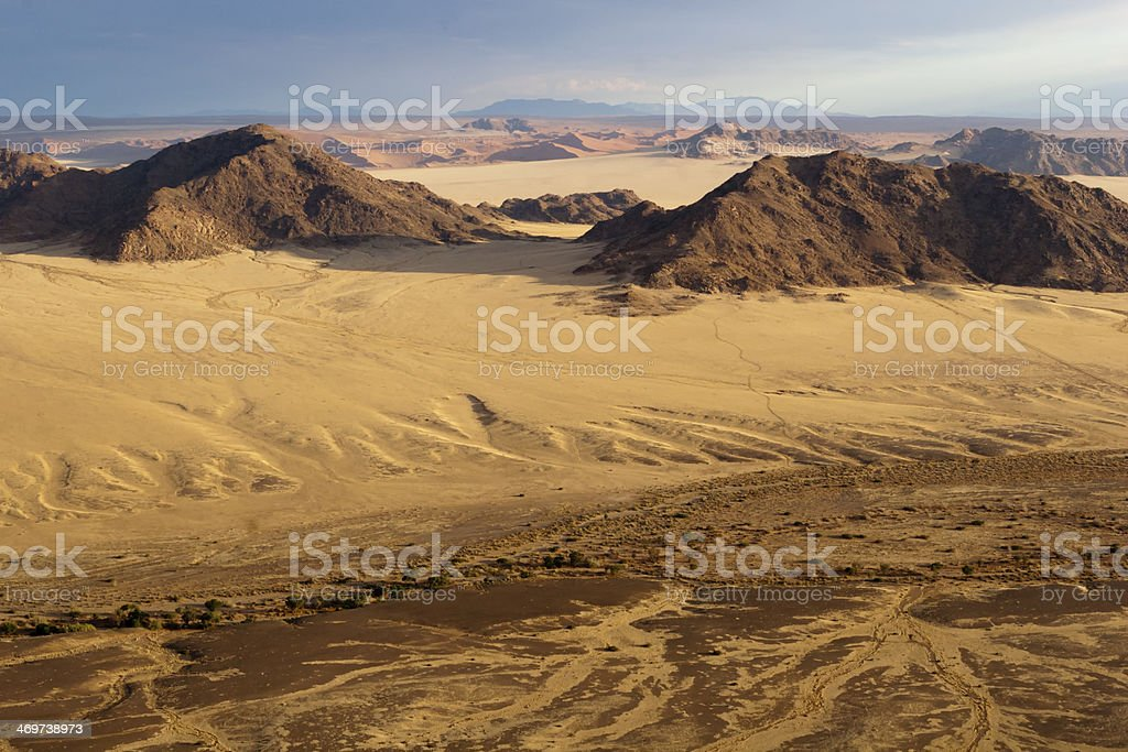 Sossusvlei, Red Dunes stock photo