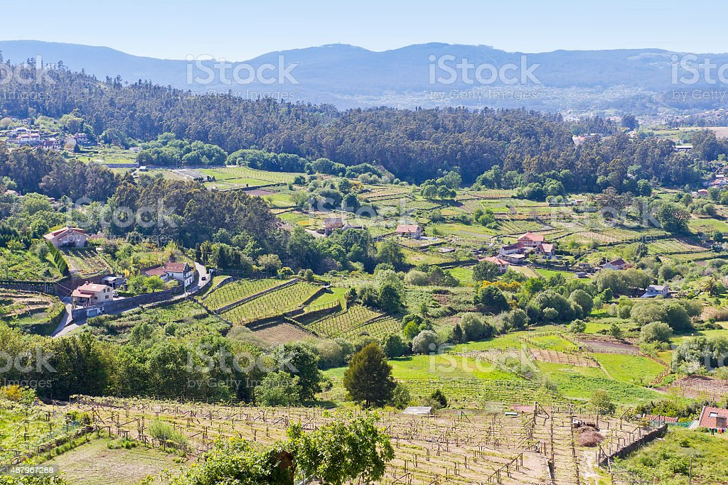 Sotomayor town landscape royalty-free stock photo