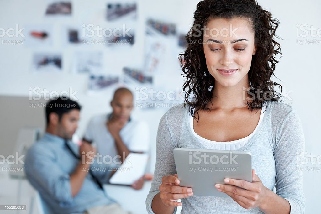 Soucing new ideas with ease royalty-free stock photo