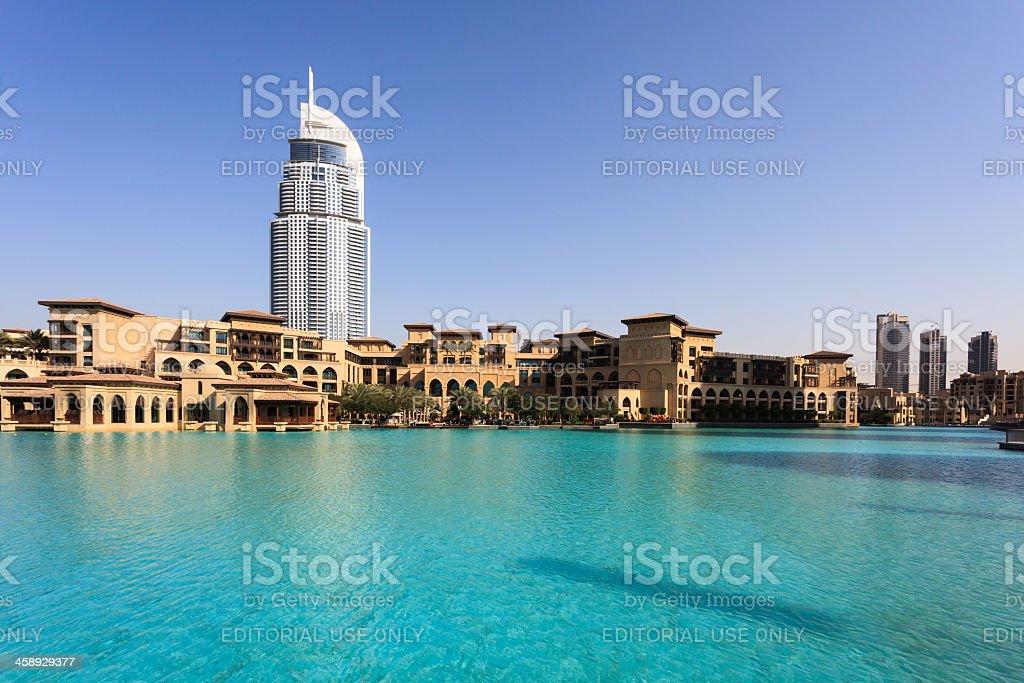 Souk Al Bahar Shopping Center, Dubai, United Arab Emirates royalty-free stock photo