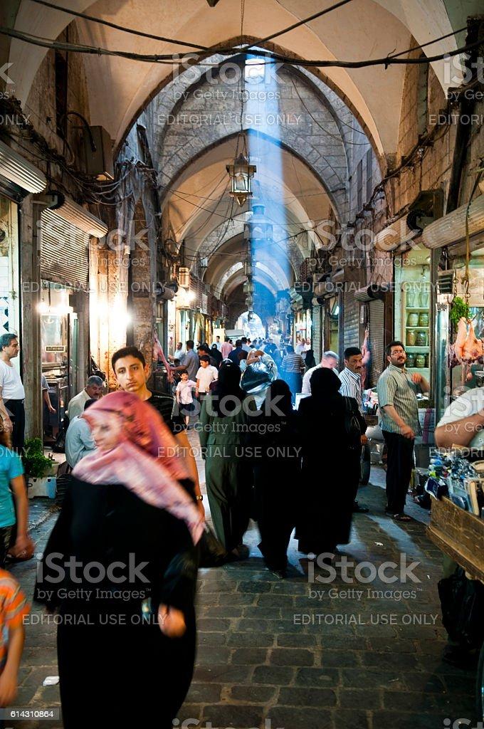 Souk in Aleppo, Syria - Photo