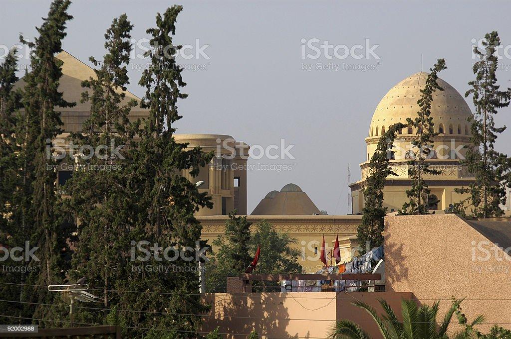 Souk in Marrakech royalty-free stock photo