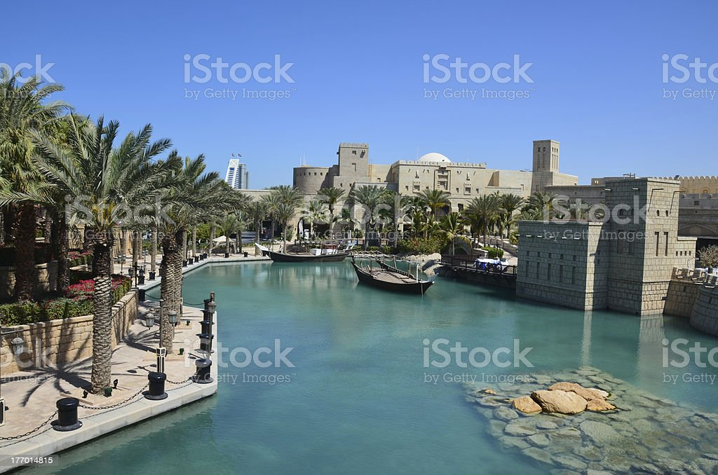 Souk Madinat Jumeirah, Dubai stock photo
