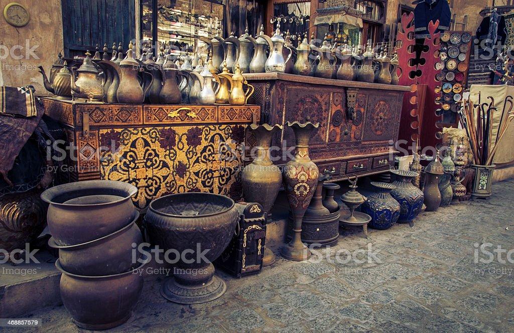 Souk Waqif stock photo