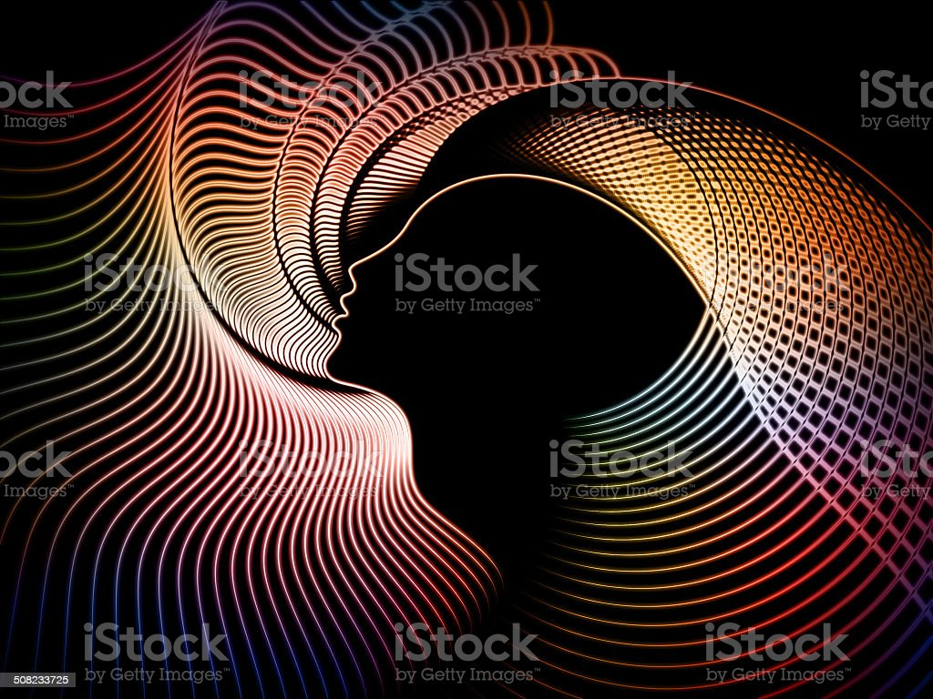 Soul Geometry Metaphor stock photo