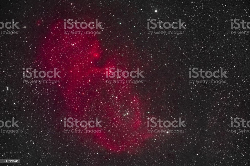 Soul Nebula stock photo
