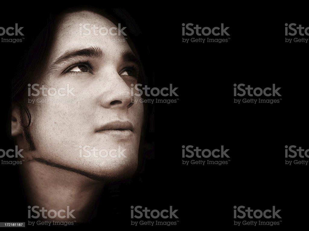 Soul of a Poet royalty-free stock photo