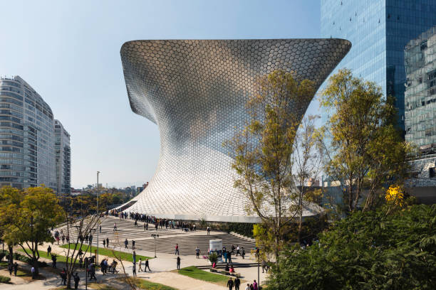 Soumaya and Carso Park stock photo