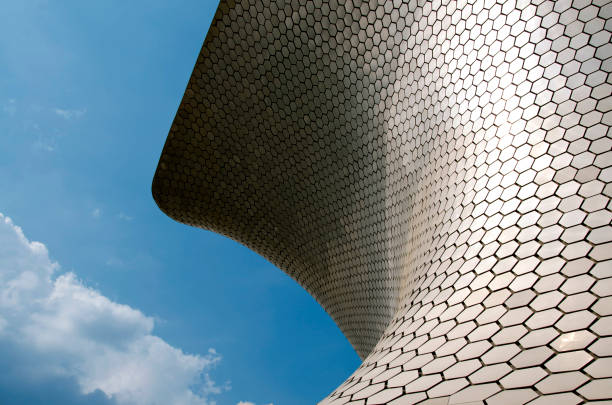 Soumaya Museum in Mexico City stock photo