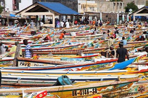 istock Soumbedioune fish market in Dakar, Senegal 521130856