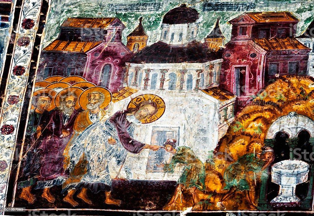Monasterio Soumela - foto de stock