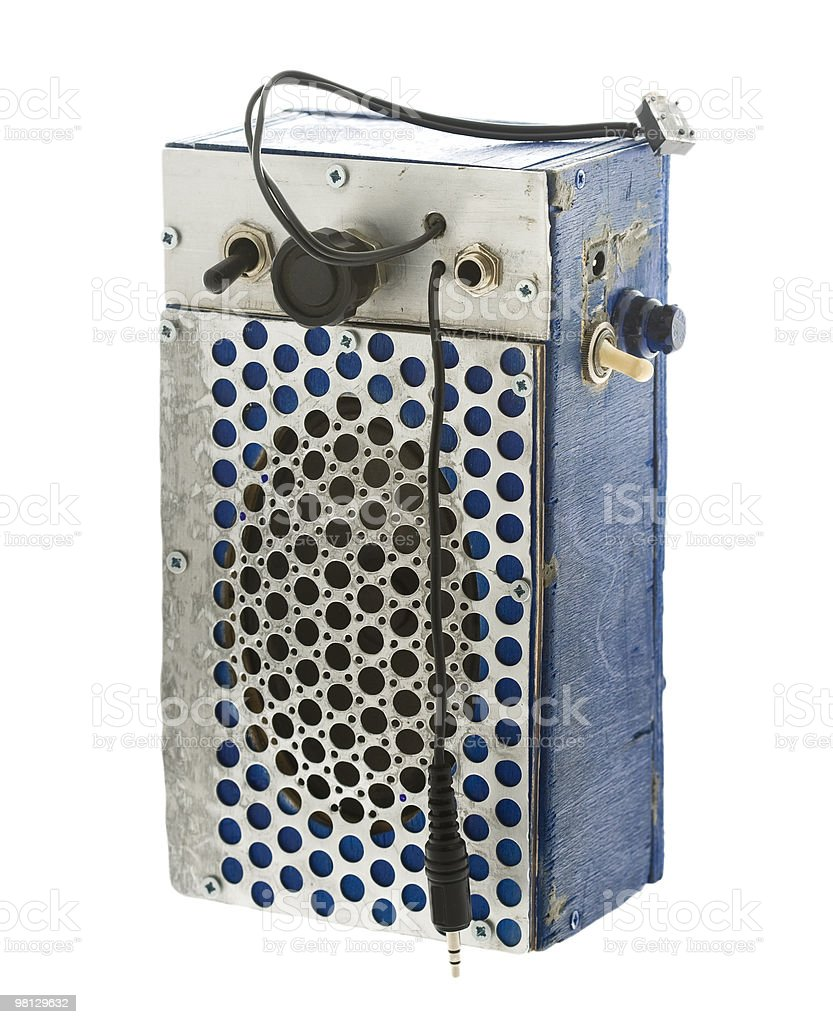 Sound amplifier royalty-free stock photo
