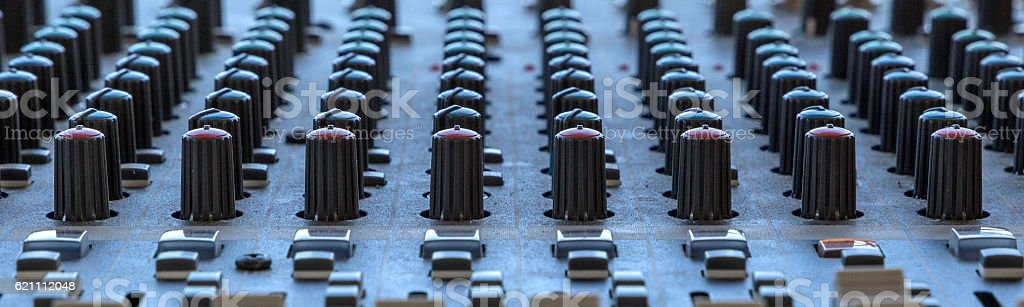 Sound control panel Featured stock photo