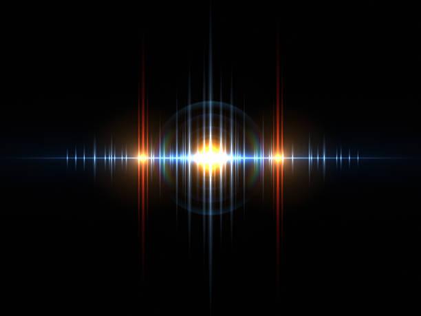 サウンド光波 - 音響 ストックフォトと画像